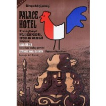 Palace Hotel Ewa Kruk Jan Młodożeniec polski plakat