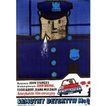 Samotny Detektyw McQ Jan Młodożeniec polski plakat