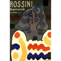 Kopciuszek Rossini Jan Młodożeniec polski plakat