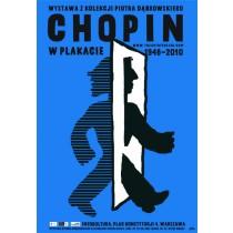 Chopin w plakacie Piotr Młodożeniec polski plakat