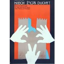 Niech żyją duchy Oldrich Lipsky Jacek Neugebauer polski plakat