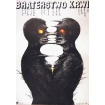 Braterstwo krwi Gyorgy Dobray Marian Nowiński polski plakat