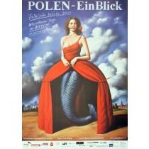 Polski tydzień Rafał Olbiński polski plakat