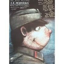 C.K. Dezerterzy Janusz Majewski Andrzej Pągowski polski plakat