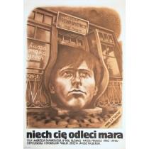 Niech cię odleci mara Andrzej Barański Marek Płoza-Doliński polski plakat