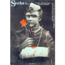 Saszka Aleksandr Surin Marek Płoza-Doliński polski plakat