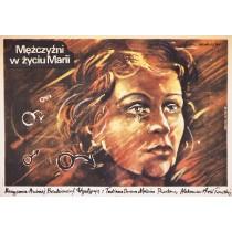 Mężczyźni w życiu Marii Andrei Benkendorf Marek Płoza-Doliński polski plakat
