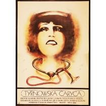 Tyrnowska caryca Yanko Yankov Marek Płoza-Doliński polski plakat