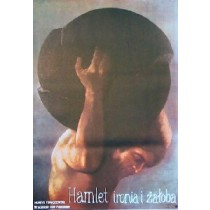 Hamlet Ironia i żałoba Jan Jaromir Aleksiun polski plakat