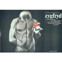 Zygfryd Andrzej Domalik Krzysztof Bednarski polski plakat