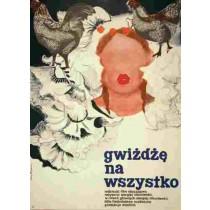 Gwiżdżę na wszystko Sergei Nikonenko Maria Biegańska polski plakat