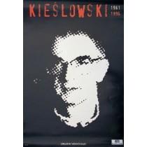 Krzysztof Kieślowski czarny Jan Bokiewicz polski plakat