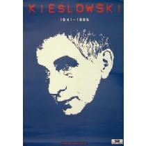 Krzysztof Kieślowski niebieski Jan Bokiewicz polski plakat