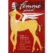 Femme Plakat Elżbieta Chojna polski plakat