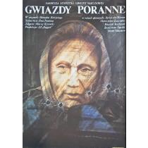 Gwiazdy poranne Henryk Bielski Krystyna Hoffman-Pągowska polski plakat