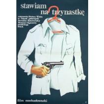 Stawiam na trzynastkę Dusan Klein Anna Mikke polski plakat