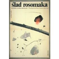 Ślad rosomaka Georgi Kropachyov Wanda Roszkowska polski plakat