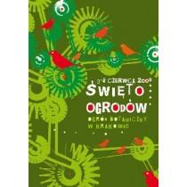 Święto Ogrodów Elżbieta Wojciechowska polski plakat