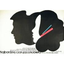 Najbardziej czarująca kobieta Gerald Bezhanov Andrzej Nowaczyk polski plakat