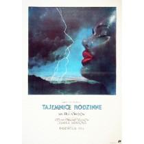 Tajemnice rodzinne Valeri Akhadov Janusz Obłucki polski plakat