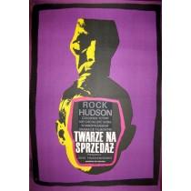 Twarze na sprzedaż John Frankenheimer Franciszek Winiarski polski plakat