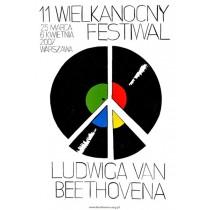 Festiwal Ludwiga van Beethovena Wilhelm Sasnal polski plakat