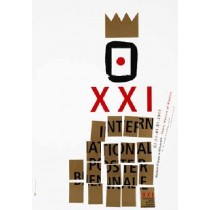 21. International Poster Biennale Ewa Engler polski plakat