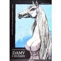 Damy i Huzary Bolesław Polnar polski plakat