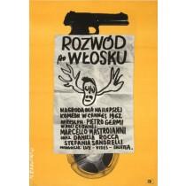 Rozwód po włosku Maciej Raducki polski plakat