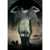 Niebo nad Berlinem Wim Wenders Kaja Renkas polski plakat