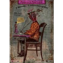 Polnisch Poetisch Buchbund Kaja Renkas polski plakat