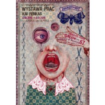 Imago art Wystawa Prac Kaji Renkas Kaja Renkas polski plakat