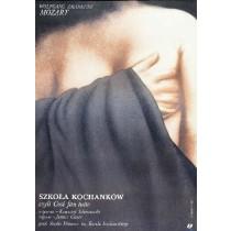 Szkoła kochanków czyli Cosi fan tutte Wiesław Rosocha polski plakat