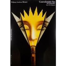 Czarodziejski flet Wiesław Rosocha polski plakat