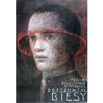 Biesy Wiktor Sadowski polski plakat
