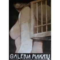 Galeria Plakatu Kramy Dominikańskie Wiktor Sadowski polski plakat