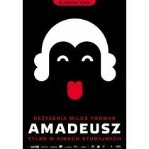 Amadeusz Milos Forman Joanna Górska Jerzy Skakun polski plakat