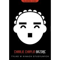 Brzdąc Charlie Chaplin  Joanna Górska Jerzy Skakun polski plakat