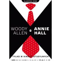 Annie Hall Woody Allen Joanna Górska Jerzy Skakun polski plakat