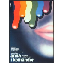Anna i Komandor Romuald Socha polski plakat