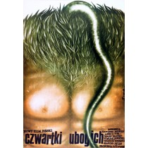 Czwartki ubogich Romuald Socha polski plakat