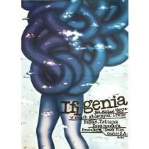 Ifigenia Romuald Socha polski plakat