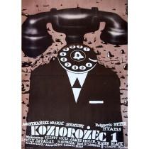 Koziorożec 1 Romuald Socha polski plakat