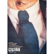 Cziczerin Aleksandr Zarkhi Romuald Socha polski plakat