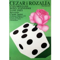Cezar i Rozalia Romuald Socha polski plakat