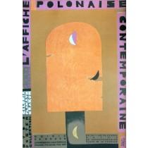 L´ affiche Polonaise Hotel de Bourgtheroulde Monika Starowicz polski plakat