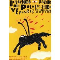 Niemiecki rok polskich nieudaczników Monika Starowicz polski plakat