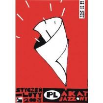 Plakat jazzowy Monika Starowicz polski plakat