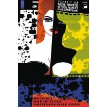 Francuskie Kino Wystawa Polskich Plakatów Monika Starowicz polski plakat