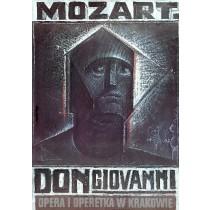 Don Giovanni Krakow Franciszek Starowieyski polski plakat
